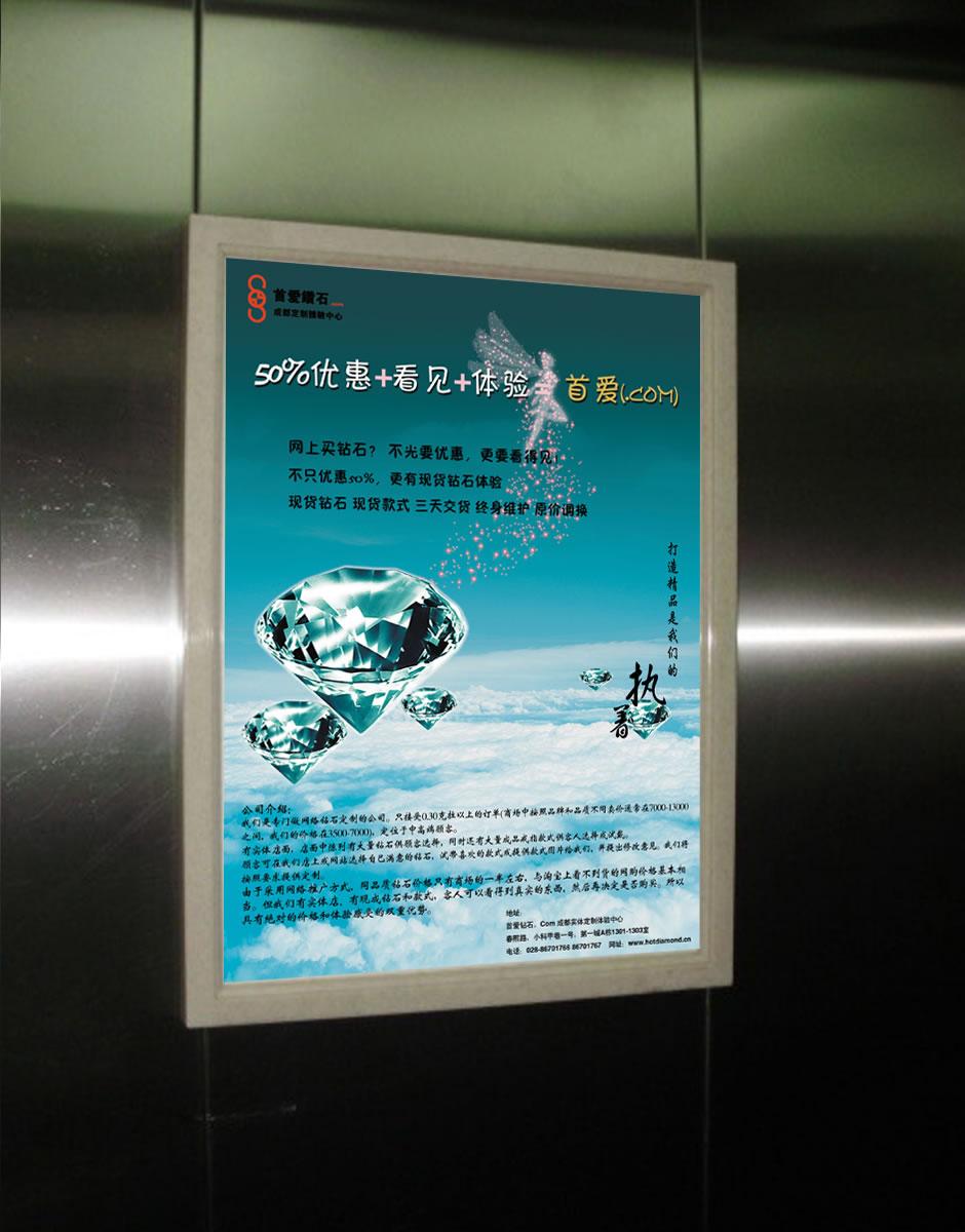 常府风华苑电梯广告