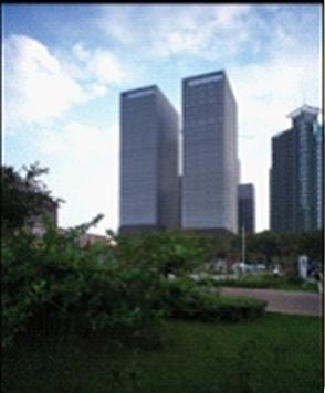 CFC长发中心商务楼多媒体3.0电梯广告