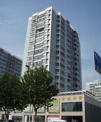 东城风景电梯广告