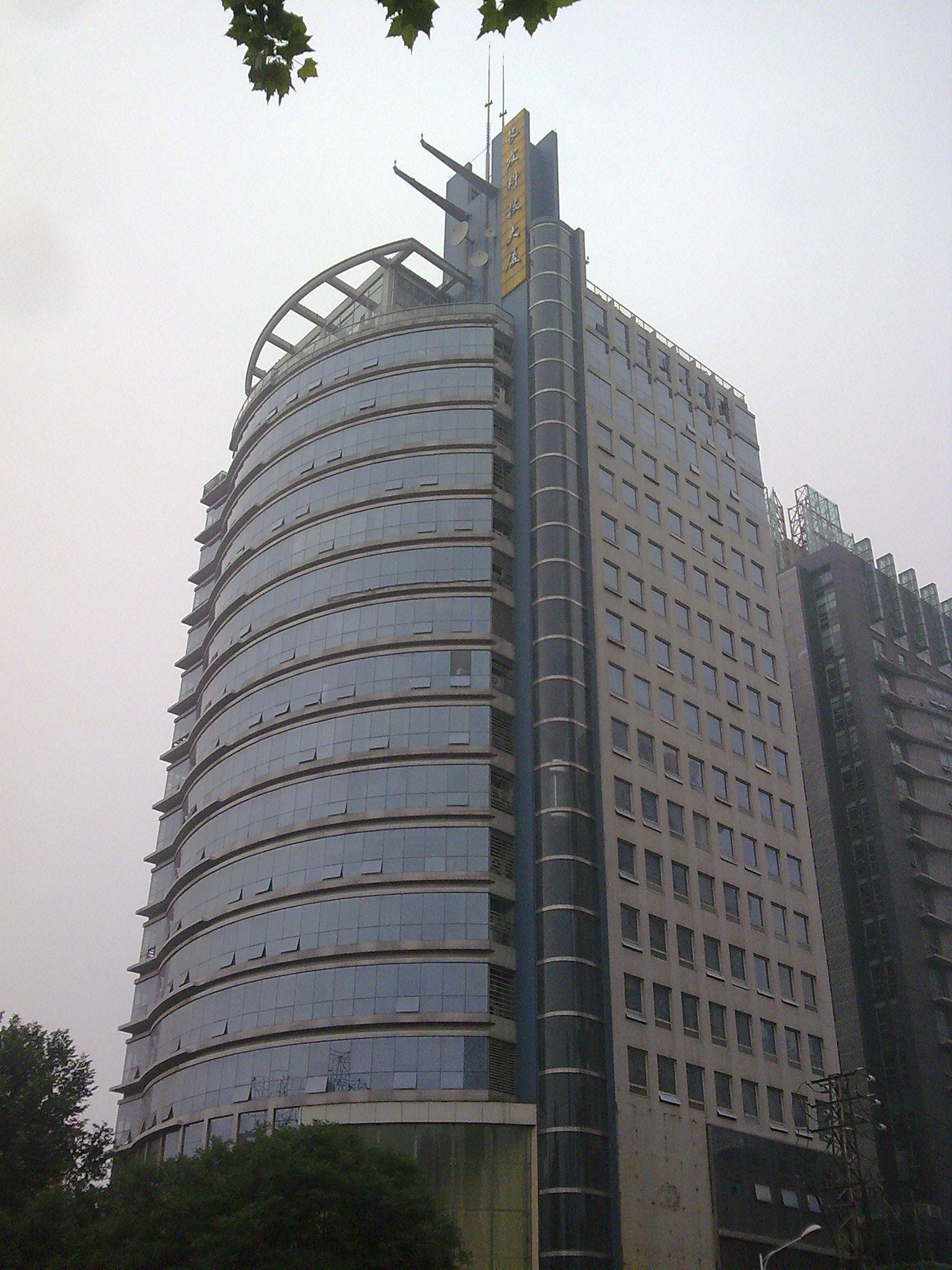 长发科技大厦电梯广告
