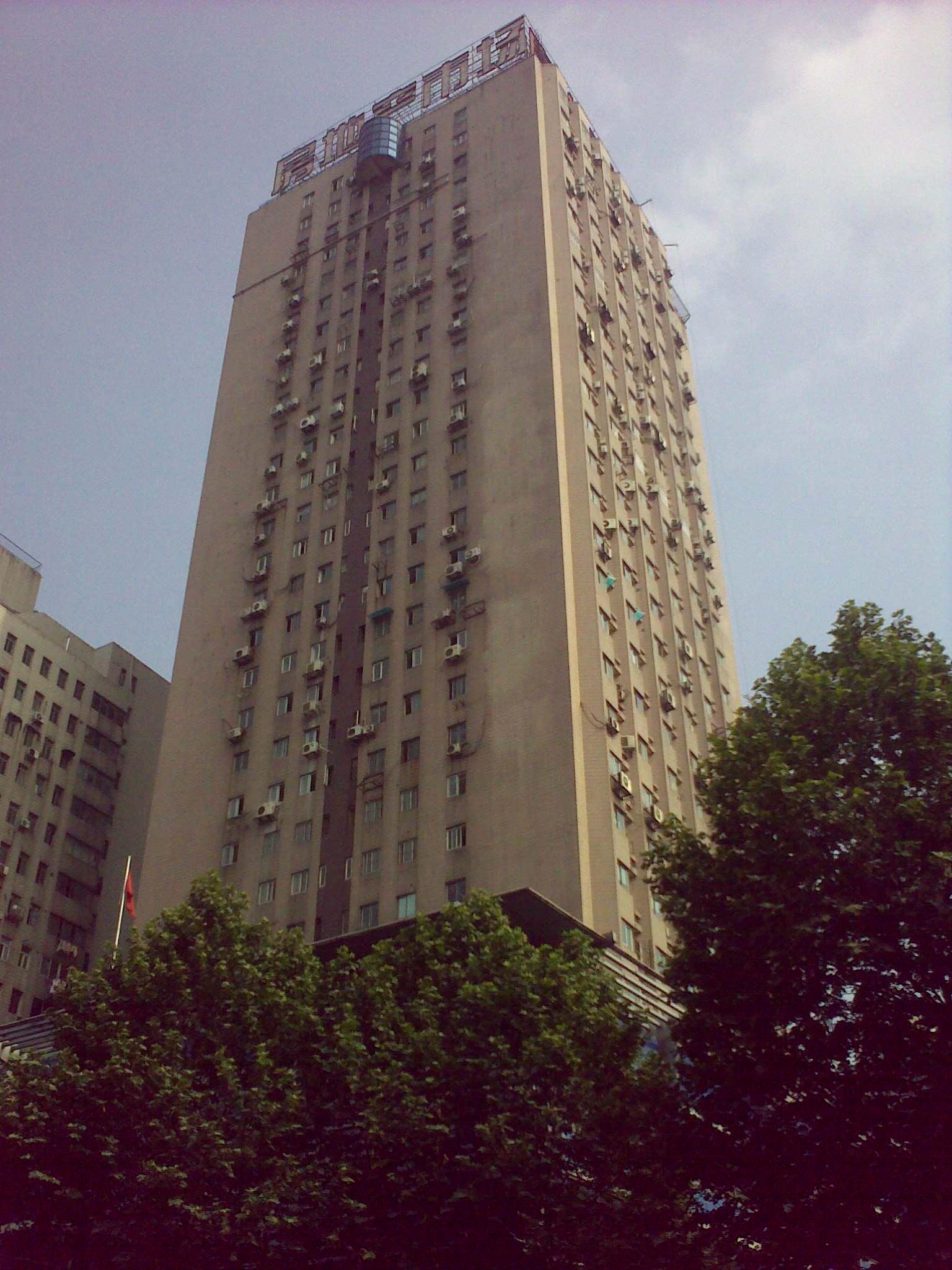 南京春风大厦电梯广告
