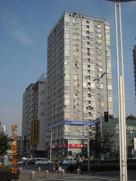 南京典雅大厦电梯广告