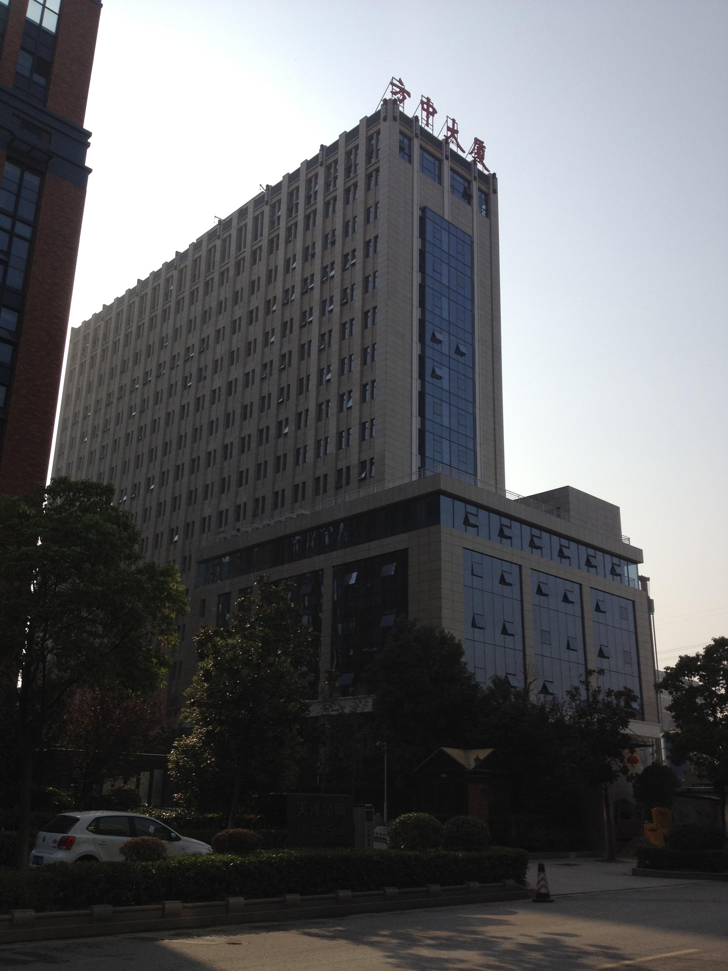 南京方中大厦电梯广告