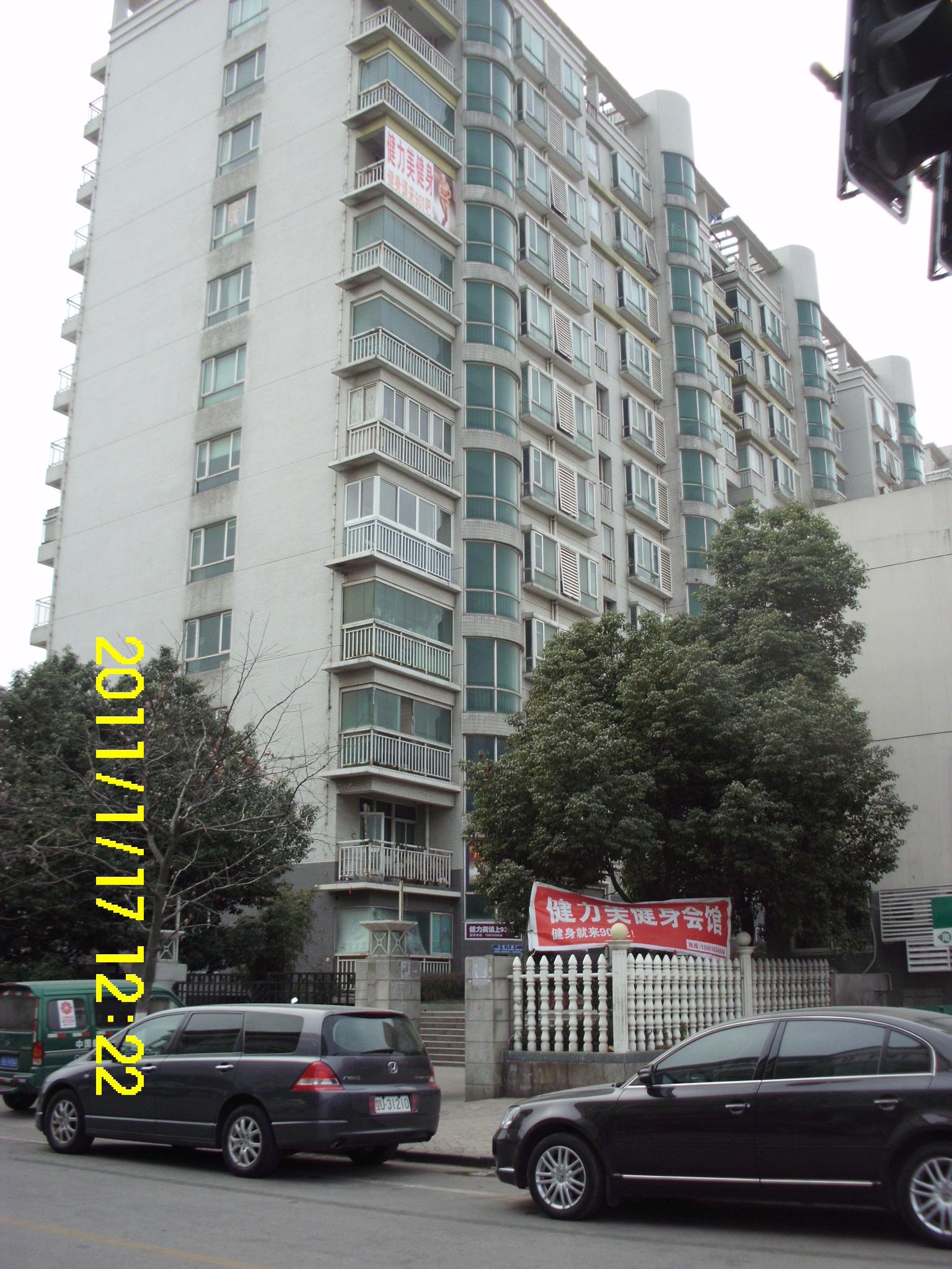 南京枫情佳园电梯广告